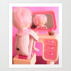 Pink Posey Art Print