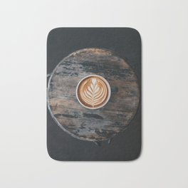 Coffe Art Bath Mat