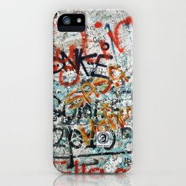 berlin wall iPhone Case