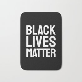 BLACK LIVES MATTER Bath Mat