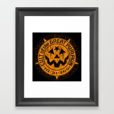 Cult of the Great Pumpkin: Alchemy Logo Framed Art Print