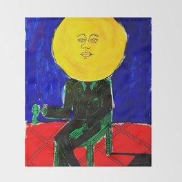Sir/Madam Pompadour - Pop Art Surrealism Throw Blanket