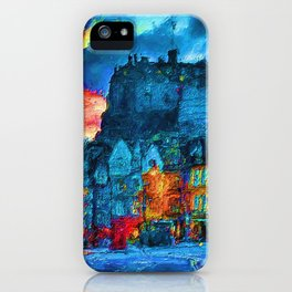 Edinburgh Evening iPhone Case