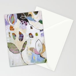 """""""Letting Go"""" Original Painting by Flora Bowley Stationery Cards"""