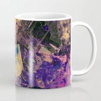 gem Mugs featuring Vintage Gem by Simona Sacchi