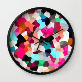 Pop Moon Love Wall Clock