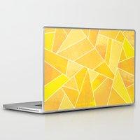 sunshine Laptop & iPad Skins featuring Sunshine by Elisabeth Fredriksson