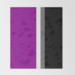 Nope (Asexual) Throw Blanket