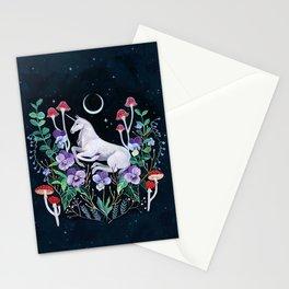 Unicorn Garden Stationery Cards