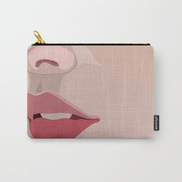 up close lips Carry-All Pouch