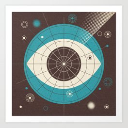 Radar - Part II Art Print