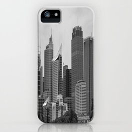 Retro Skyline iPhone Case