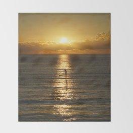 Sunrise in Florida Riviera Throw Blanket