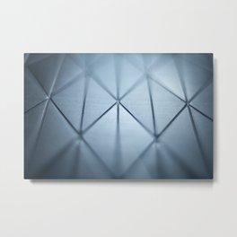 Blue Prism Metal Print