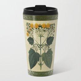 """Bouquet of vintage wild flowers"" Travel Mug"