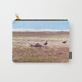 Vultures on Donkey Carry-All Pouch