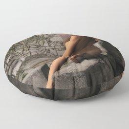 Naked Ruins  Floor Pillow