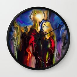 Painfully Beautiful Love Wall Clock