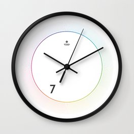 7 o'clock Wall Clock