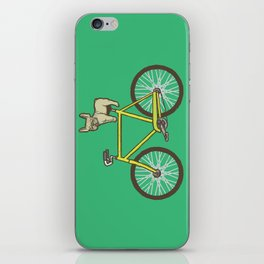 Frenchie on a Fixie iPhone Skin