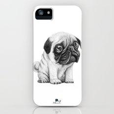 Pug Pug 01 iPhone (5, 5s) Slim Case