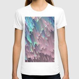 Iridescent Shadows Glitches T-shirt