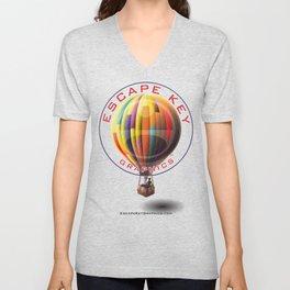 Balloon Unisex V-Neck
