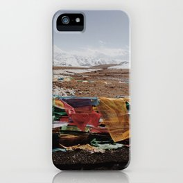 Tibetan landscape iPhone Case