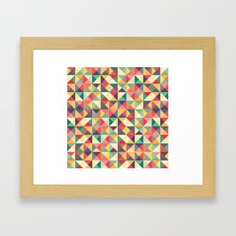 I can't think of a title. Framed Art Print