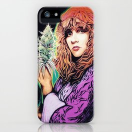 Stevie Nicks Tribute Mural: Wouldn't You Love to Love Her // Music Women Rock and Roll Fleetwood iPhone Case
