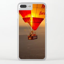 Adrift in the Mist at Sunrise Clear iPhone Case