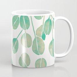 Silver Dollar Eucalyptus – Mint Palette Coffee Mug