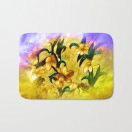 Spring Daffodils Bath Mat