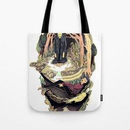 scary way Tote Bag
