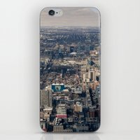 toronto iPhone & iPod Skins featuring Toronto by Nick De Clercq
