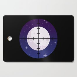Aim for the Moon Cutting Board