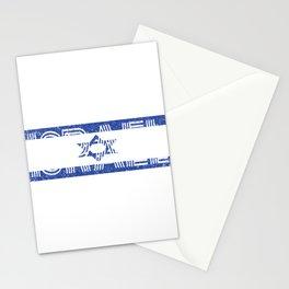 Israeli Flag Israel Jewish Star of David Jerusalem Gift Stationery Cards