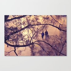 Over the city Canvas Print