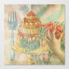 Let Them Eat Cake Canvas Print