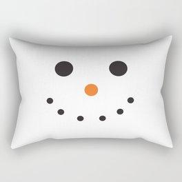 Snowman Holiday Rectangular Pillow