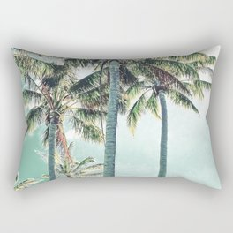 Under the palms Rectangular Pillow