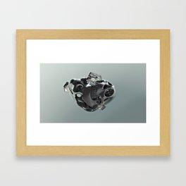 OsteoObliquity Framed Art Print