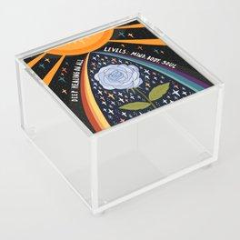 Deep healing on all levels Acrylic Box