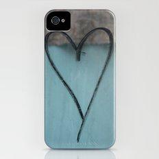 Heart Graffiti iPhone (4, 4s) Slim Case