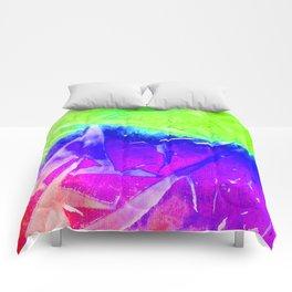 Aurora 3 - Green Sky Comforters