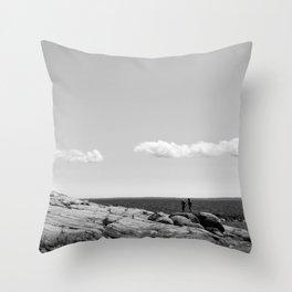 Summer Walk Throw Pillow