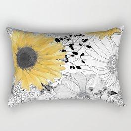 Incidental Rectangular Pillow
