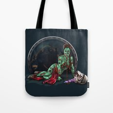 Aren't you a little brainless for a stormtrooper? (Zombie Slaved Princess Leia) Tote Bag