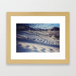 Sandy Beach Framed Art Print