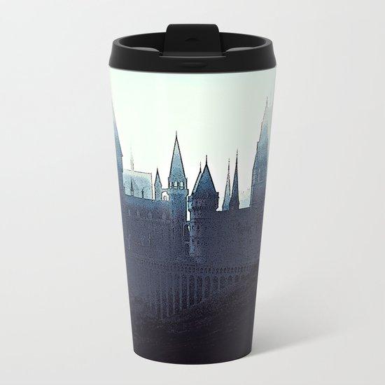 Harry Potter - Hogwarts Metal Travel Mug